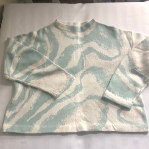 Anthropologie Sleeping on Snow sweater XL